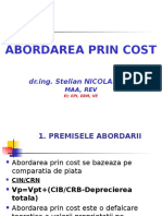 Cap 3 Abordarea Prin Cost