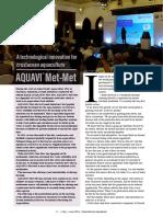 A technological innovation for crustacean aquaculture - AQUAVI® Met-Met