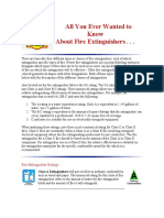 Fire Extiguisher All You want to know