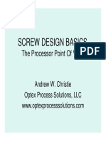 Screw Design Guide
