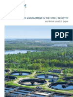 Water Management Position Paper 2015