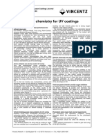 Novel Chemistry for UV Coatings