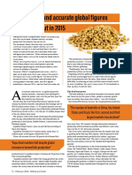 FEED STATS - More robust and accurate global figures  for feed output in 2015