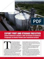 EXPORT PORT AND STORAGE FACILITIES