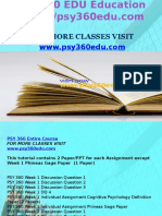PSY 360 EDU Education Expert/psy360edu.com