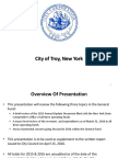 City of Troy financial presentation