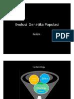 Kuliah 1 Populasi-genetika-evolusi Rev