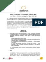 X Convocatoria Premio Fnac-Salamandra Graphic 2016