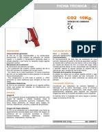 Ficha Técnica Extintor Co2 10kg