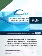 Nanotechnology Market Analysis, Market Size, and Application Analysis 2016-2021