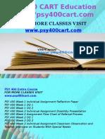 PSY 400 CART Education Expert/psy400cart.com