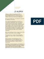 Dermatitis Alergi