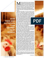 HOW FEED AND NUTRITION CAN COMBAT HEAT STRESS