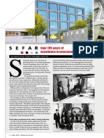 Industry profile - SEFAR