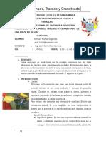 Limado,Trazado y Avellanado - Práctica 3