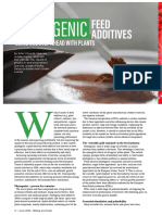 PHYTOGENIC FEED ADDITIVES