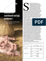 Australian spray dried porcine plasma offers solutions to nutritionist and pig producers