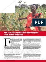 New Farm Africa project to help boost grain trade across East Africa
