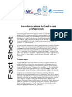 Incentive Systems for Health Care Professionals
