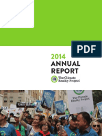 2014 Annual Report by The Climate Reality Project (2014)