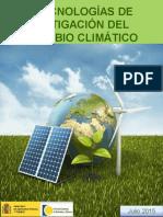Tecnologias Mitigacion Cambio Climatico 2004-2014