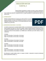 Matlab sistemas de  Matrices y Vectores