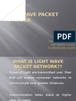 Light Wave Packet Network (2)