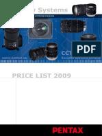 Pentax Cctv 2009