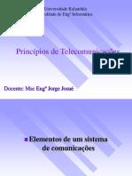 AULAS INTRODUÇÃO À TELECOMUNICAÇÕES