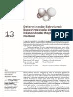 Capítulo 13 - Determinação Estrutural - RMN