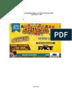 Festival de Quadrilhas Juninas