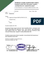 Surat Pengumuman Mgmp Maret