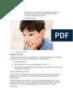 Autismo en Niños
