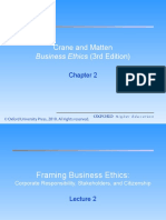 Framing Business Ethics