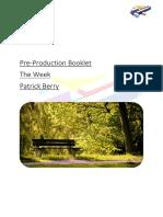 pre production bookelt
