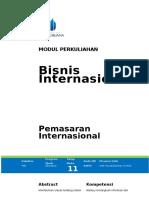 Bisnis Internasional - Modul 11