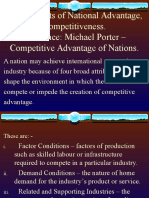 Chapter 4.Determinants of National Advantage, Competitivenes