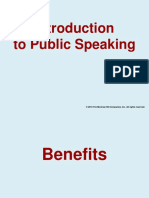 1 Intro to Public Speaking