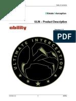 ULIN Product Description - Ability