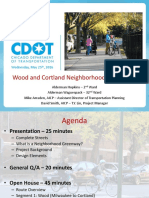 Wood and Cortland Street Neighborhood Greenways