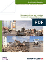 The Control of Dust and Emissions From Construction and Demolition - Nov 2006