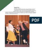 La Cueca Chilota Conserva La Estructura Coreográfica de Las Otras Cuecas Ejecutadas a Lo Largo de Chile