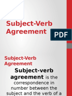 9 Subject Verb Agreement4