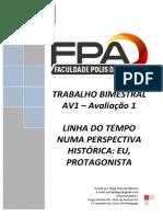 Trabalho AV1 - 1° Semestre - História da Educação.pdf