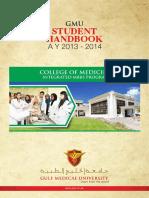 Handbook MBBS 2013 2014