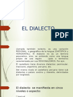 El Dialecto