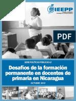Desafios Formacion Permanentes Docentes Primaria Nic