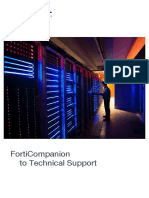 Forti-Companion To Technical Support