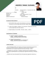 MI CV