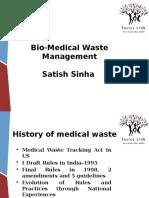 Biomedical Waste Management-by Satish Sinha